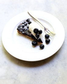 Blueberry Tart from The Dessert Spoon