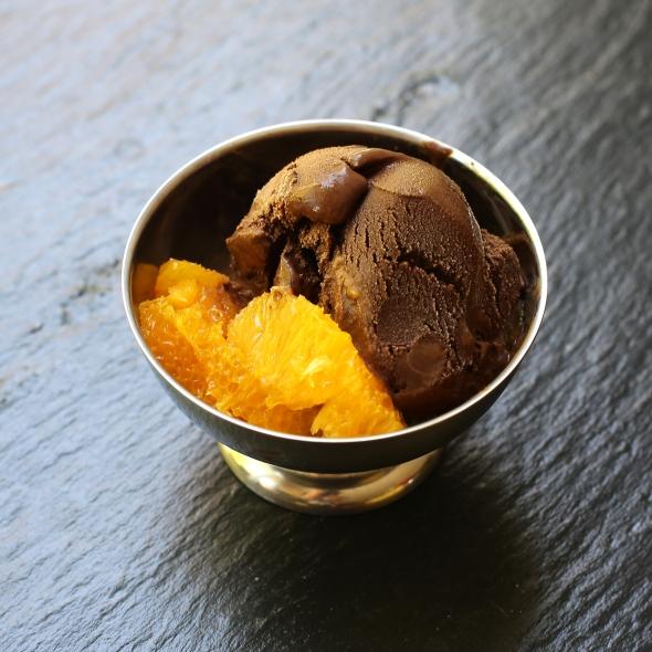 Chocolate Grand Marnier Sorbet