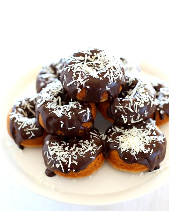 Lamington Donut