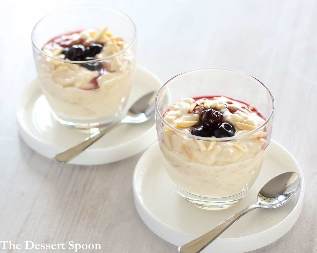 Risalamande (Danish Almond Rice Pudding)