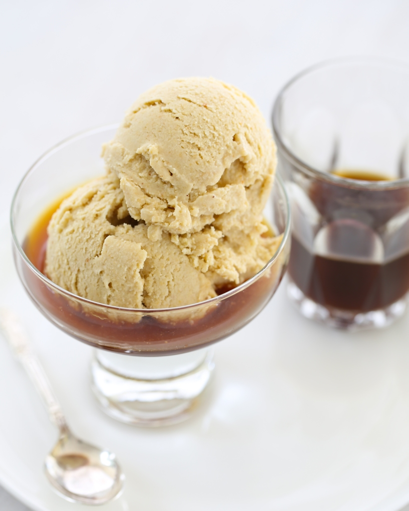 Roasted Cashew & Cardmom Ice Cream Affogato
