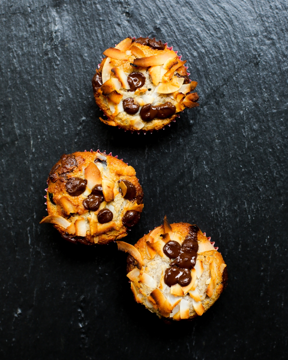 Coconut & Chocolate Chip Muffins