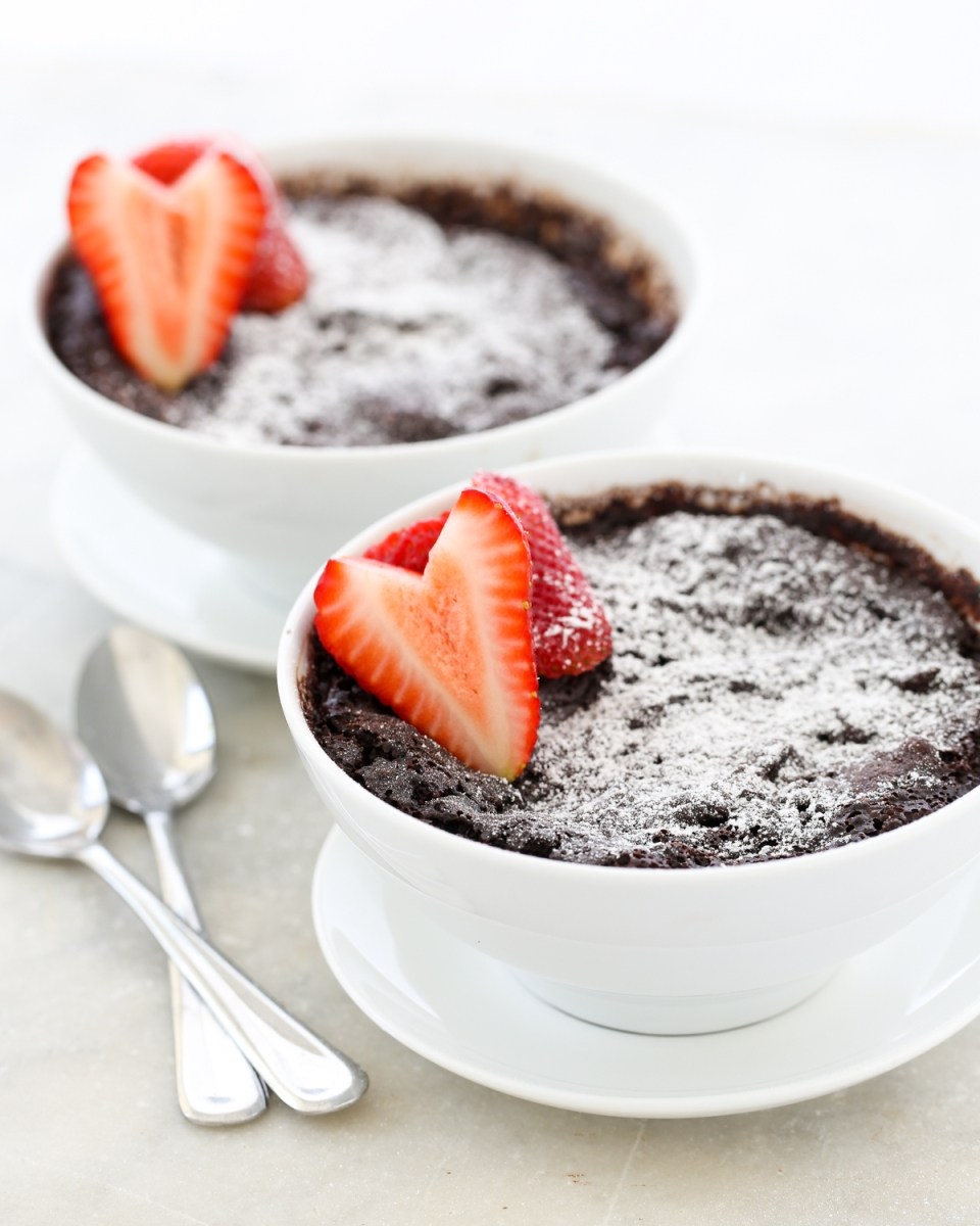 5 Minute Miracle Self-Sauced Chocolate Pudding