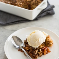 Apple Crumble with a twist