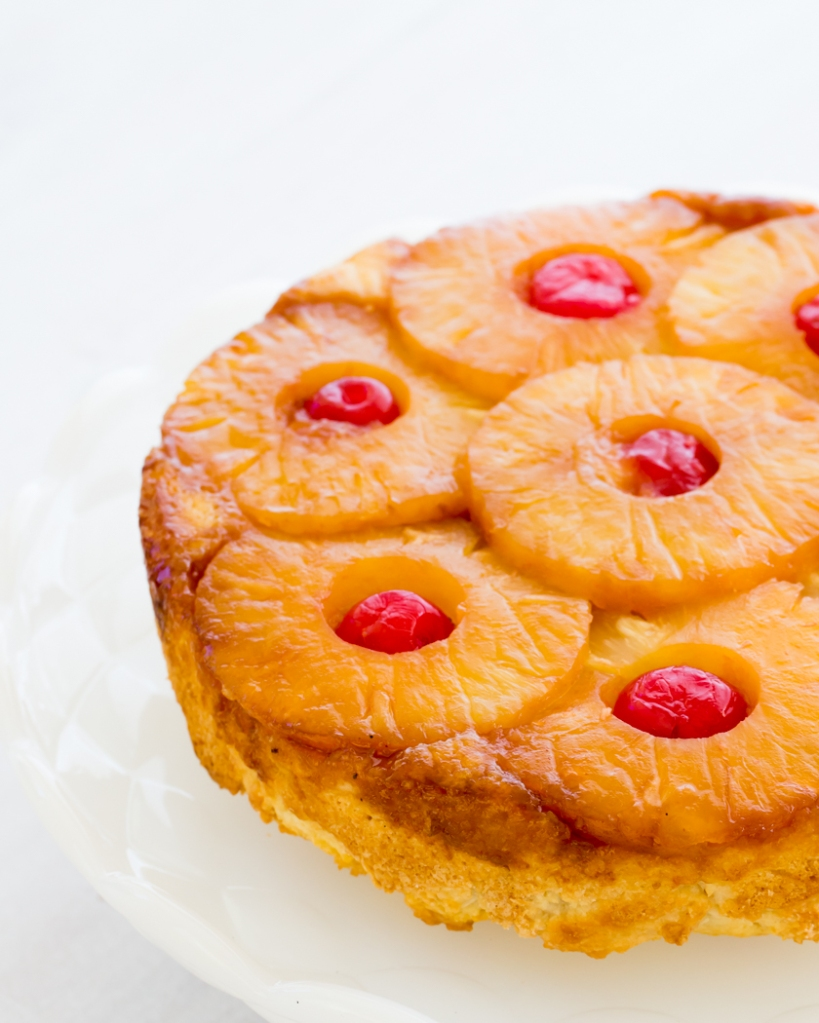 Upside Down Pineapple Cake-9910