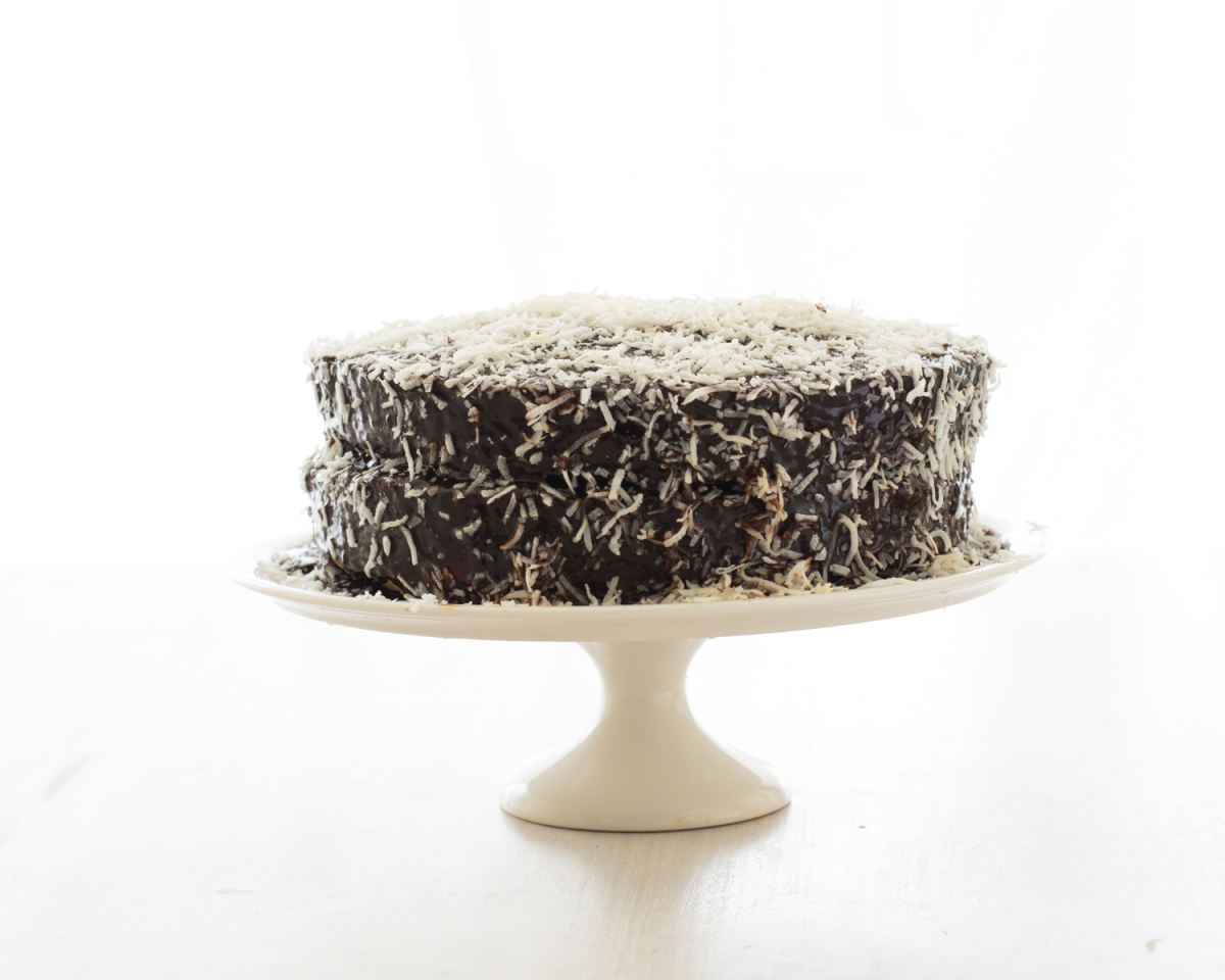 Deluxe Lamington Cake